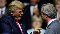 Trump apuesta por Farage como embajador británico en EE. UU, Londres le dice que el puesto está bien cubierto