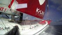 J16 : Conditions de navigation musclées pour Tanguy de Lamotte / Vendée Globe