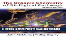 Best Seller The Organic Chemistry of Biological Pathways Free Read