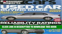 Best Seller Consumer Reports Used Car Buying Guide Free Read