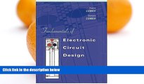 READ BOOK Fundamentals of Electronic Circuit Design GET PDF