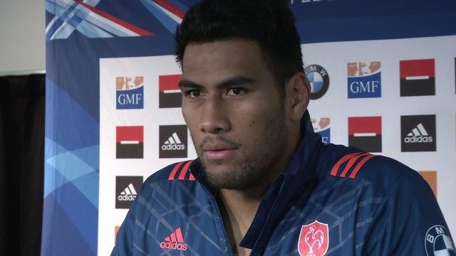 Rugby - Bleus : Vahaamahina «Si on les admire, là, c'est sûr, ils vont faire le spectacle»