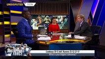 Dallas Cowboys Week 11 win over the Ravens was Dak Prescotts greatest achievement | UNDISPUTED