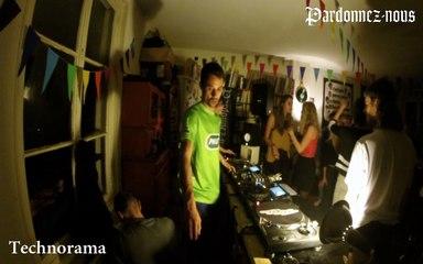 Pardonnez-nous les 24 heures du mix le quinze octobre - DJ Jee & Céline (Technorama) (00h-01h)