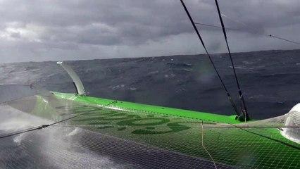 Tour du Monde Sodebo J+16 - La 6ème vidéo du bord dans les conditions extrêmes de l'Ocean Indien