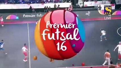 BEST OF PREMIER FUTSAL  with RONALDINHO, GIGGS, FALCAO  - Part 1