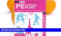 Deals in Books  PE Lesson Plans Year 1: Photocopiable Gymnastic Activities, Dance and Games