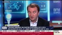 Y'a pas que le CAC: Trigano salué en Bourse pour ses résultats annuels - 22/11