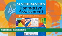 Deals in Books  Mathematics Formative Assessment, Volume 1: 75 Practical Strategies for Linking