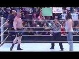 WWE Highlights - Brock Lesnar vs Bray Wyatt & Luke Harper - Full Match-jH5rHOUwjk8