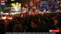 LIVE: Massive Protest across US after Donald Trump wins US Elections (11/10/16)