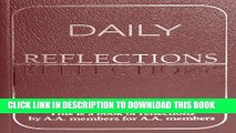 [PDF] Epub Daily Reflections  A Book of Reflections by A A  Members for A A  Members Full Online
