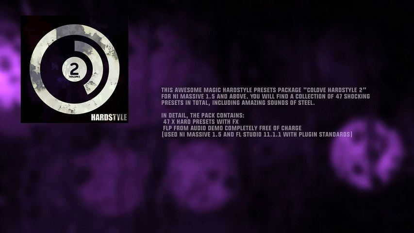 COLOVE Hardstyle 2 for NI Massive (Presets + FLP)