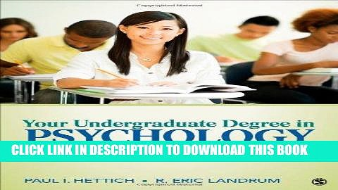 [READ PDF] EPUB Your Undergraduate Degree in Psychology: From College to Career Free Download