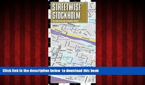 Best book  Streetwise Stockholm Map - City Center Street Map of Stockholm, Sweden (Streetwise