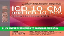 Ebook ICD-10-CM and ICD-10-PCS Coding Handbook, with Answers, 2016 Rev. Ed. Free Download