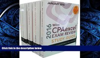 READ book Wiley CPAexcel Exam Review 2016 Study Guide January: Set (Wiley Cpa Exam Review)