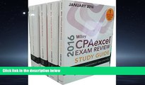 PDF [DOWNLOAD] Wiley CPAexcel Exam Review 2016 Study Guide January: Set (Wiley Cpa Exam Review)