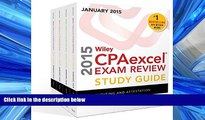 READ PDF [DOWNLOAD] Wiley CPAexcel Exam Review 2015 Study Guide January: Set (Wiley Cpa Exam