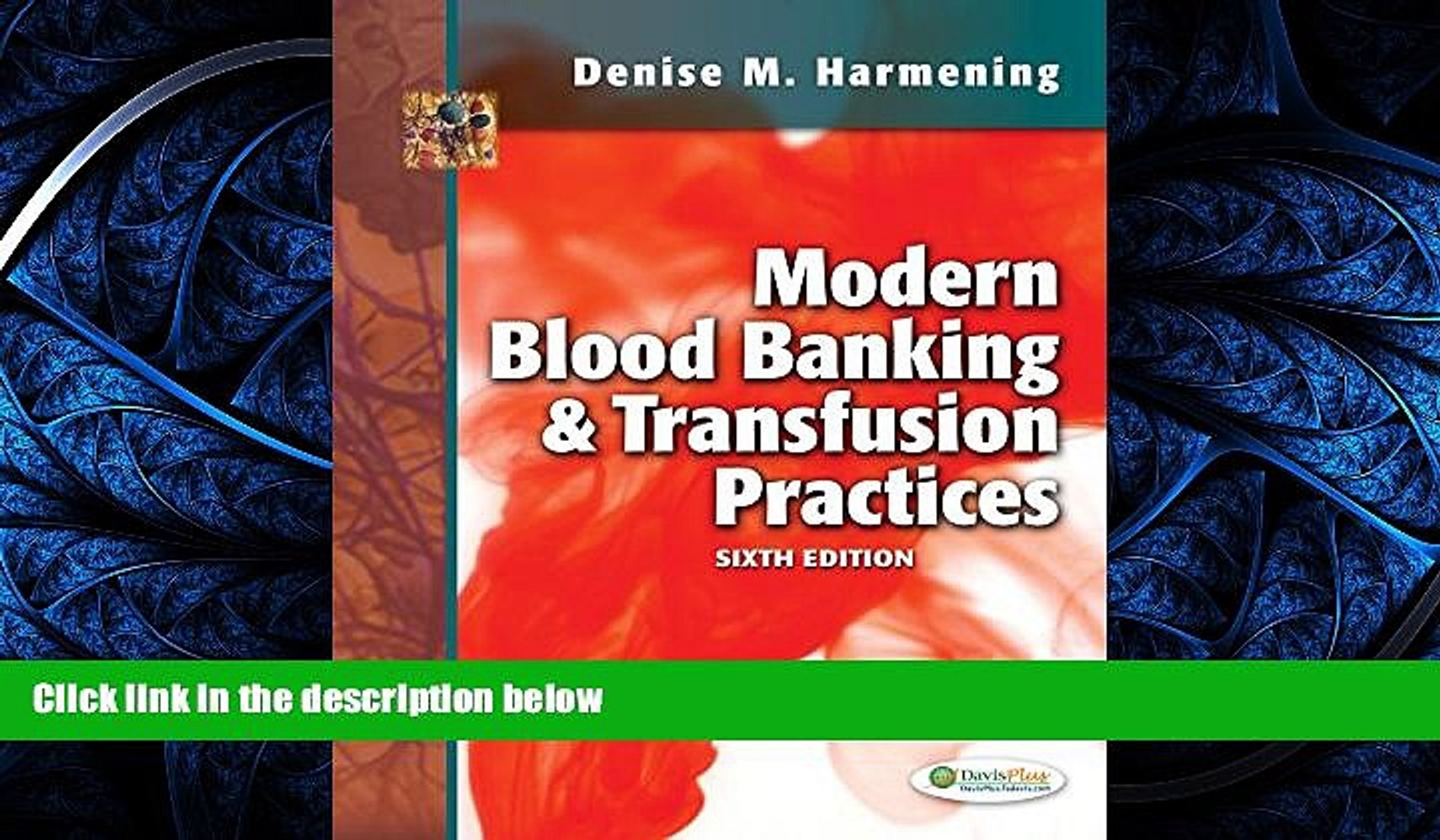 PDF [DOWNLOAD] Modern Blood Banking   Transfusion Practices READ ONLINE
