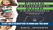 Best Seller Poor Students, Rich Teaching: Mindsets for Change (Raising Achievement for Youth at