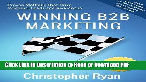 PDF Winning B2B Marketing Ebook Online