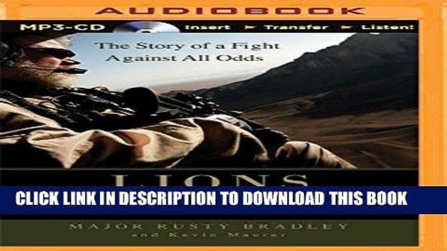 [PDF] Lions of Kandahar: The Story of a Fight Against All Odds Popular  Online