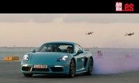 VÍDEO: Persecución de película: 6 drones contra Porsche 718 Cayman