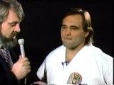 Larry Zbyszko karate demonstration
