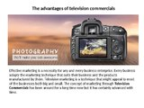 Television Commercials | Tv Commercial Advertising