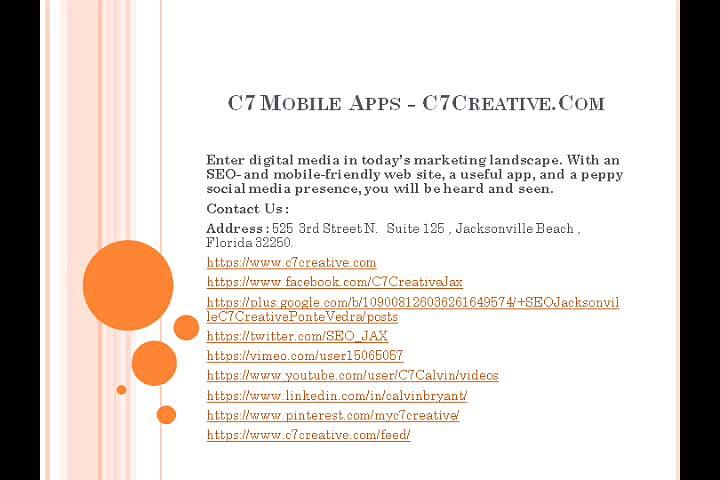 C7 Creative – jacksonville social media marketing – C7 Creative – jacksonville social media marketing