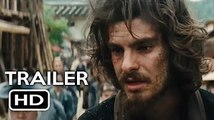 SILENCE - Official Trailer (2016) Andrew Garfield, Martin Scorsese Drama Movie HD
