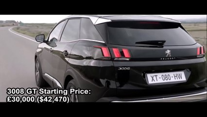 2017 Peugeot 3008 Gt Interior Exterior And Drive Video Dailymotion