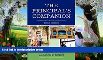 Deals in Books  The Principal s Companion: A Workbook for Future School Leaders  BOOK ONLINE