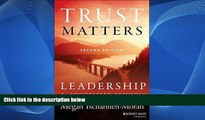 READ NOW  The Leadership   Learning Center: Book Trust Matters Leadership for Successful Schools