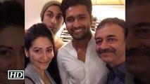 Sanjay Dutt's BIOPIC Team- Ranbir, Raju Hirani & Manyata Dutt