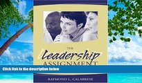 Deals in Books  The Leadership Assignment: Creating Change  BOOOK ONLINE