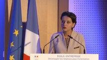 [ARCHIVE] École-Entreprise : discours de Najat Vallaud-Belkacem