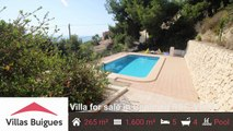 Villas Buigues-Real estate in Moraira Costa blanca REF-VB167