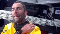 J18 : Armel Le Cléach est rentré dans les quarantièmes / Vendée Globe