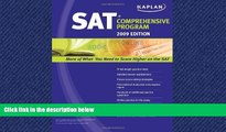 FAVORIT BOOK  Kaplan SAT 2009 Comprehensive Program BOOOK ONLINE