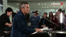 Julien Clerc chante « Elle et moi » en live au Parisien