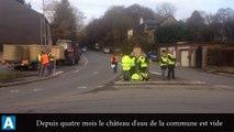 Ardennes : leur château d'eau est vide les habitants de Tremblois-lès-Rocroi se rebellent