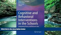 Big Sales  Cognitive and Behavioral Interventions in the Schools: Integrating Theory and Research