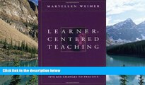 Buy NOW  Learner-Centered Teaching: Five Key Changes to Practice  Premium Ebooks Online Ebooks