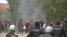 بلغاريا: أعمال عنف بين مهاجرين غير شرعيين والشرطة