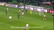 Fedor Smolov Goal Krasnodar 1 - 1 Salzburg EL 24-11-2016