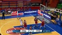 Cibona v SIG Strasbourg | Highlights - Basketball Champions League |