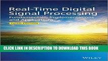 PDF Download RealTime Digital Signal Processing Fundamentals