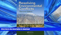 READ  Resolving Environmental Conflicts, Second Edition (Social Environmental Sustainability)